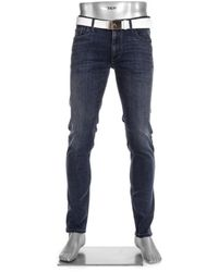 ALBERTO Fx Regular Slim Fit T400 (4237 - 1572 - 898) - Blauw
