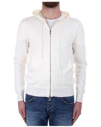 Drumohr D1Z305Cz sweatshirt - Blanc