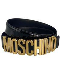 Moschino Letras Belt - Zwart