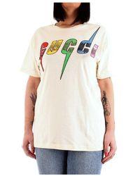 Gucci - T-shirt - Lyst