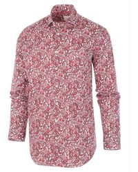BLUE INDUSTRY Perfect Fit Shirt - Rood