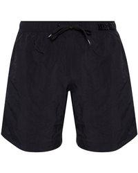 Moschino Swim shorts with logo - Nero
