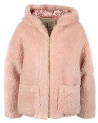 L'Autre Chose Coat - Roze