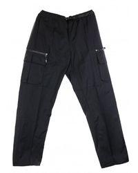 Obey Pantalone Lungo Warfield Trek Pant - Zwart