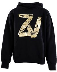 Zadig & Voltaire Wallace foil sweatshirt - Nero