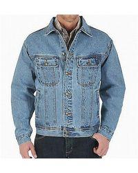 Paul & Shark Rugged Wear Denim Jacket Cotton - Blauw