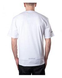 Caterpillar Camiseta 2511551 - Bianco