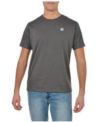 North Sails T-shirt - Grijs