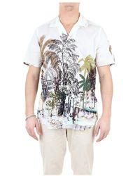 Tintoria Mattei 954 1t68nru Short Sleeve Shirts - Wit