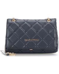 Valentino By Mario Valentino Ocarina Bag With Chain - Blauw