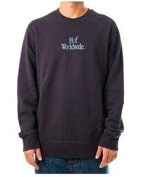 James Perse Woz Crewneck Sweatshirt Pf00288.nvy - Blauw