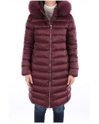 Add Waw577 Long Jacket - Rouge