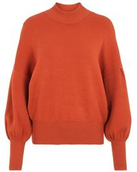 Y.A.S Pullover Yasfonny - Rood