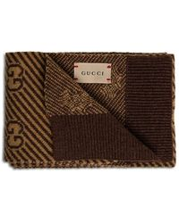 Gucci Scarf With Logo - Bruin