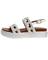 CafeNoir Gd936 Sandals - Weiß