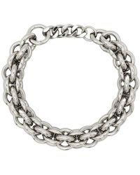 1017 ALYX 9SM Silver Metal Necklace - Grijs