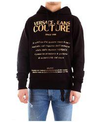 Versace Jeans Couture B7gwa7twwup306 Hoodie - Zwart