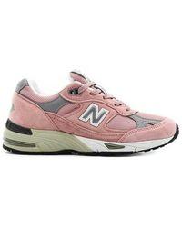 New Balance Scarpa 991 Sneakers - Roze