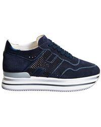 Hogan Midi H222 - Sneakers - Blauw