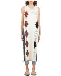 Roberto Collina V-12 White White Sari - Wit