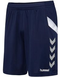 Hummel Tech Move Shorts - Blauw
