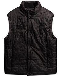 Ferragamo Vest with logo - Noir