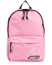 MSGM Signature Backpack - Roze