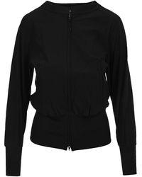 adidas Zip Through Sweatshirt Gv0354ts - Zwart