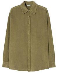 American Vintage Herrenhemd padow - Verde