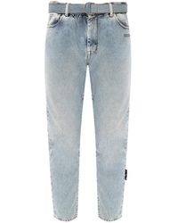 Off-White c/o Virgil Abloh Printed jeans - Blu