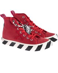 Off-White c/o Virgil Abloh Flat Shoes - Rood