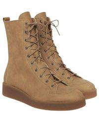 Arche Comley lace-up boots - Marrón
