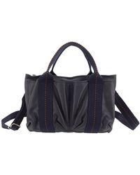 Hermès Caravan orizzontale PM - Blu