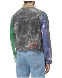 Tigran Avetisyan Painted Jacket - Blu
