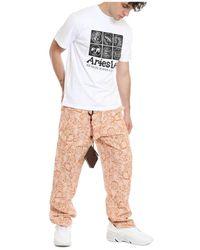 Aries T-shirt Blanco