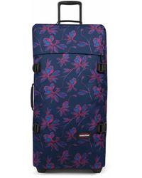 Eastpak - Tranverz L travel bag w / wheel - Lyst