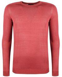 Antony Morato Basic Sweater - Rood