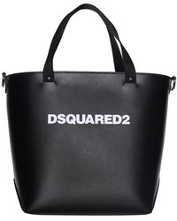 DSquared² Tas - Zwart