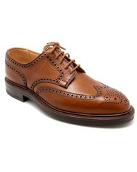 Crockett & Jones Pembroke shoes - Orange