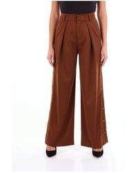 Isabelle Blanche Classic Trousers - Bruin