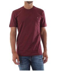 Calvin Klein K10K103076 Logo T-Shirt - Rosso