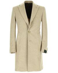 Lubiam 2-button coat - Neutre