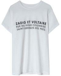 Zadig & Voltaire Zoe Zv Adres - Wit