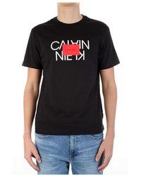 Calvin Klein - K10k106489 Short Sleeve T-shirt - Lyst