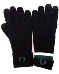 Fred Perry C7152 Handschoenen - Zwart