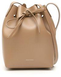 Mansur Gavriel Mini Bucket Bag - Naturel