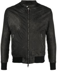 Emporio Armani Biker Polsino jacket - Nero