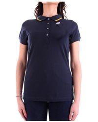 K-Way K111nyw Short Sleeves Polo - Blauw