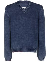 Maison Margiela Sweater - Blauw