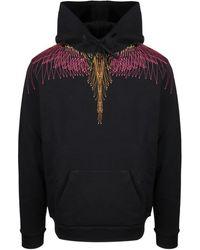Marcelo Burlon Wings Hoodie - Zwart
